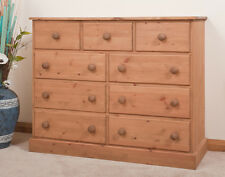 SOLID PINE | CHEST OF DRAWERS | Multi-Chest | HANDMADE | DOVETAILED | WAXED