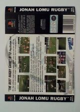 *BACK INLAY ONLY* Jonah Lomu Rugby Back Inlay  PS1 PSOne Playstation