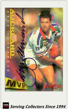 1996 Dynamic Rugby League Series 2 MVP Autographed Card --CLIFF LYONS