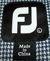 Footjoy Large Poly Blend Logo Golf Shirts