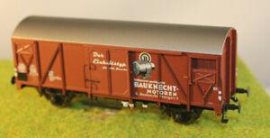 """Brawa 48818 Gedeckter Güterwagen Gls 205 """"Bauknecht"""" DB, Epoche 4, H0, AC Räder"""