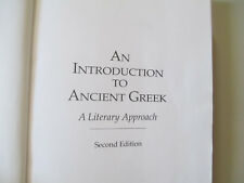 AN INTRODUCTION TO ANCIENT GREEK-SECOND ED.-LUSCHNIG-RARE HARDCOVER BOOK-2007
