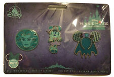 Minnie Mouse The Main Attraction Haunted Mansion October 2020 Three Pin Set NEW