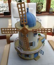 Sylvanian Families Field View Mill ( Windmill ) in nearly complete condition