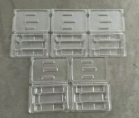 New Lot of 5 Plastic 3 Slot SFP & XFP Trays Clamshell