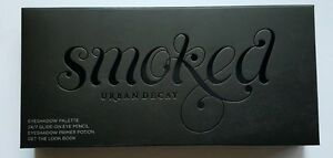 Urban Decay Smoked Eyeshadow Palette w/  24/7 Liner & Primer Potion