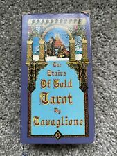 The Stairs of Gold Tavaglione Tarot Deck 1979 1st Edition RARE