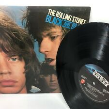 The Rolling Stones Black And Blue Vinyl Record LP