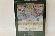 The Great Courses The History of the Supreme Court (Course Dvds & Guidebook)