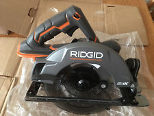 "BRAND NEW RIDGID R8652 GEN5X BRUSHED 7-1/4"" 18 VOLT CIRCULAR SAW, BARE TOOL."