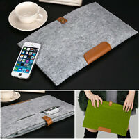 "Woolen Felt Laptop Sleeve Bag Case Cover for Apple MacBook Air Pro 11"" 13"" 15"""