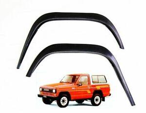 Nissan Patrol 3 portes Extensions d'aile Noir mat 2 AV et 2 AR Années 1981-1990
