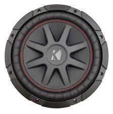 """Kicker CompVR CVR 10"""" Dual 4 Ohm Voice Coil Car Subwoofer - 700W - 43CVR104"""