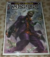 JOKER YEAR OF THE VILLAIN #1 PARRILLO EXCLUSIVE TRADE DRESS LMTD 1000
