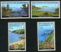 GUERNSEY 1976 GUERNSEY VIEWS SET OF ALL 4 COMMEMORATIVE STAMPS MNH