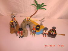 Playmobil Pirateninsel Eiland Floss Boot Piraten Schiff  4290 3940 3750*ABB