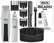 Wahl Mustache Beard Trimmer Shaver Set Clipper Hair Cut Groomer Ear Nose Brow
