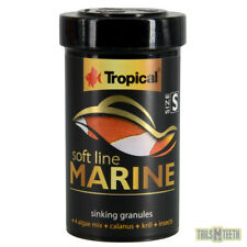 Tropical Soft Line Marine Fish Food 60g - Small Sinking Granules