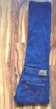 Super Sexy ! Levis 505 Jeans Jambe Droite 8M W30 L31.5 Vguc ! Gratuit Priority