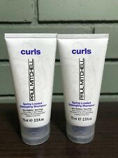 Paul Mitchell Spring Loaded Detangling Shampoo 2.5oz Travel Size (2 PACK) NEW!