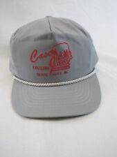 Vintage Casey Jones Bar Tavern Terre Haute Indiana Strapback Cap Hat 90's 80s