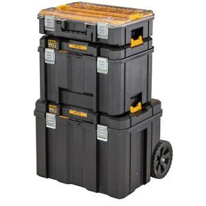 DeWalt TSTAK 3 in 1 Mobile Storage Box 20''