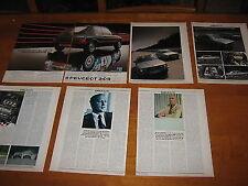 Peugeot 205 GTi, Turbo 16 BMW 325i, Convertible, 4x4, Mercedes 190D M3 Audi