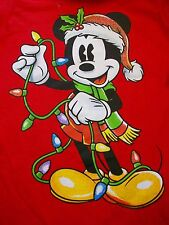 Disney Junior Mickey Mouse Jungle Bells Musical Singing Tshirt X Small XS Video