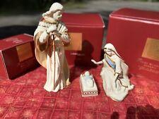 Lenox First Blessing Nativity Holy Family Figurines Mary Joseph Baby Jesus