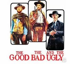 The Good The Bad and The Ugly Clint Eastwood Movie Poster 12x18 - Wall Art Print