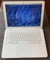 "Apple MacBook White 13 ""New 128GBSSD2.26 GHz 8GBRAN RAM LATEST OS 2017 Extras"