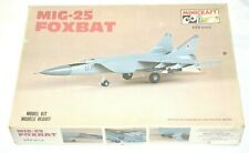 Minicraft Hasagawa 1/72 MiG 25 Foxbat Model Kit 1130 in Factory Sealed Bag