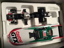 1999 John Force Mustang Action MAC TOOLS 1/24 Funny Car Castrol signed