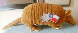 Steiff Commemorative Texas Sesquicentennial Armadillo. Mint condition.