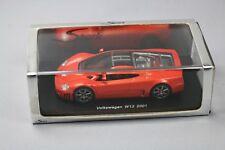 ZC1090 Spark S0440 Voiture Miniature 1/43 Volkswagen W12 2001 Orange