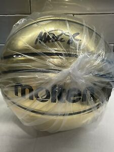 LA Lakers Magic Johnson Authentic Signed Gold Molten Basketball BAS Witnessed 🏀