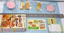 Miniatures Bread & Butter Set No.6, 1pc - Re-ment  , h#2