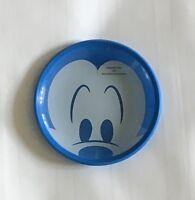 NIB Disney Parks Mickey Mouse Blue Kitchen Glass Plate