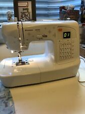 Husqvarna Viking H Class 100Q Sewing Machine with Hard Case & Accessories-EUC