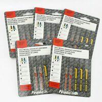 25 Black & Decker Piranha X27040 'U' Codolo HSS Hsc Puzzle Lame Legno Metallo