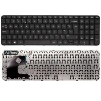 New UK Layout Keyboard with Frame Black For HP PAVILION 15-B100 SERIES Laptop