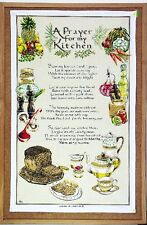 Tea Towel - A Prayer for My Kitchen - 100% Cotton