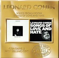 Leaonard Cohen - Songs From a Room &  Songs of Love and Hate (2CDs)
