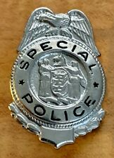 Police Special Mini Badge with New Jersey Seal Novelty Possibly Toy from 1960's