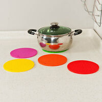 Heat Resistant Durable Silicone Table Mat Placemat Non-slip Pan Pot Holder