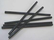 "Bakelite Catalin rod 5/16"" diameter  x 7"" long solid black USA *"