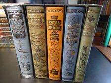 Folio Society EXPLORATION & DISCOVERY 5 Vol. S/C, Dark Continent, Oregon Trail