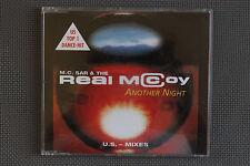 M.C. SAR & THE REAL MCCOY ANOTHER NIGHT MAXI CD SINGLE 1994 EURODANCE