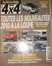 Automobile SUV 4X4 N°24 Skoda Yeti Dacia Duster Peugeot 4007 BMW X1 Saab 9-3X