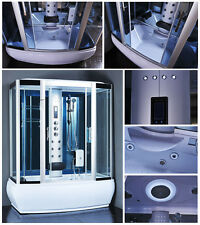 Steam Shower Enclosure Spa Sauna Whirlpool Touch Screen Computer MK117 9007WS